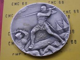 SUISSE Medaille   Societe Cantonale  Neuchateloise De Tir  60mm 87 G - Other
