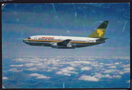 AIRPLANE AIR GUINEE BOEING 737-200 POSTCARD (see Sales Conditions) - 1946-....: Ere Moderne