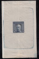 Bosnia And Herzegovina KuK, 1906 Emperor Franz Joseph, 5 Kr, Printing Proof, Very Rare! - Bosnie-Herzegovine
