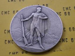 SUISSE Medaille     Societe  Vaudoise  De  Carabiniers   Maitrise  50 Mm 54 G - Other