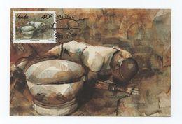 ART MAXICARD 1988 MAXIMUM POSTCARD SOUTH AFRICA VENDA ETHNIC AFRIKA AFRIQUE - Venda