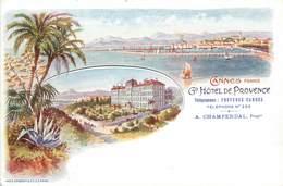 """CPA FRANCE 06 """"Cannes, Grand Hôtel De Provence """" - Cannes"""