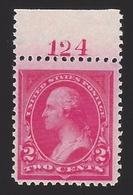 US #265 1895 Carmine Type I WMK191 Perf 12 Mint NG F-VF SCV $27.50 - Unused Stamps