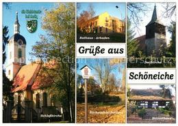 73228942 Schoeneiche_Berlin Schlosskirche Rathaus Arkaden Baeckerpfuhl Dorfaue H - Schoeneiche