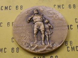 SUISSE  Medaille  10éme  Tir Du  Distict  De Nyon 1984  Bronze  35 Mm-20 G - Other
