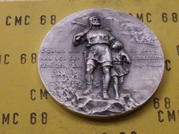 SUISSE  Medaille  Luftgewehr-  Meisterschaft  Linth   1978  40 Mm 28 G - Tokens & Medals