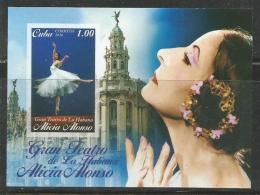 Cuba 2016 Gran Theather Alicia Alonso Ballet S/S MNH - Danse