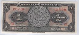 MEXICO 59e 1959 1 Peso UNC - Mexico