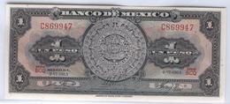 MEXICO 59i 1965 1 Peso UNC - Mexique