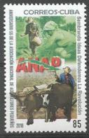 Cuba 2016 55th Anniversary Of ANAP (Small Farmers Organization, Cow) 1v MNH - Agricultura