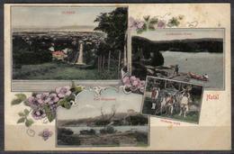 S.Africa Natal, Durban, Port Shepstone , Umkomaas River Multi-view, Used 1/2d,  UMKOMAAS NATAL  C.d.s. >Newcastle (Natal - Afrique Du Sud