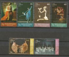 Cuba 2016 25th International Festival Of Alicia Alonso´s Ballet 6v + S/S MNH - Cuba
