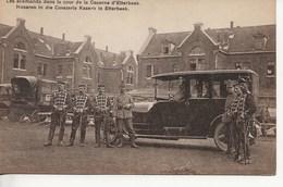 Guerre-Les Allemands,caserne D'Etterbeek - Belgien