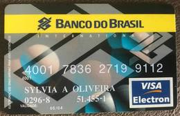 BRAZIL BANK CARD OF BRAZIL - 05/1994 - Credit Cards (Exp. Date Min. 10 Years)