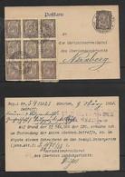 Germany  Post Card Franked Mk50 Used MUNCHEN 9 MAR 23 > Nurnberg - Germany