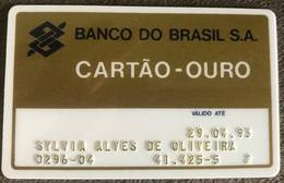 BRAZIL BANK CARD OF BRAZIL - 04/1993 - Credit Cards (Exp. Date Min. 10 Years)
