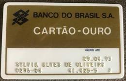 LSJP BRAZIL BANK CARD OF BRAZIL - 04/1993 - Cartes De Crédit (expiration Min. 10 Ans)