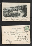 Madeira Used S.Africa CERES C.G.H. DE 11 03 > NEAL R.S.O. DE 30 00 (Ireland),  Taxe 5c &  1D  I.S.C. .POSTAGE DUE Marks - Madeira