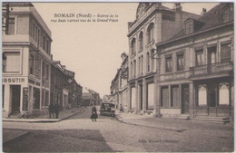 CPA 59 Nord - SOMAIN - Entrée De La Rue Sadi Carnot - France