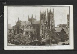 Australia, St Andrews Cathedral, Sydney, 2d Used > S.Africa - Sydney