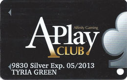 St. Jo Frontier Casino - St. Joseph, MO USA - Slot Card (not A Generic Affinity Gaming Card!) - Casino Cards