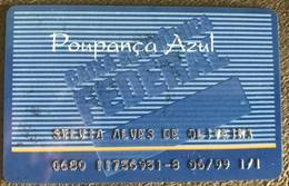 BRAZIL BANK OF THE FEDERAL ECONOMIC BOX - 06/1999 - BLUE SAVINGS - Credit Cards (Exp. Date Min. 10 Years)
