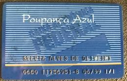 LSJP BRAZIL BANK OF THE FEDERAL ECONOMIC BOX - 06/1999 - BLUE SAVINGS - Cartes De Crédit (expiration Min. 10 Ans)