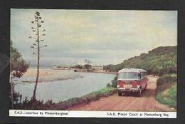 S.Africa S.A.S. Motor Coach At Plettenberg Bay, S.African Railways (pub) - Afrique Du Sud