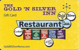 Gold 'n Silver Inn - Reno, NV - Gift Card - Casino Cards