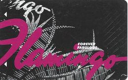 Flamingo Casino - Las Vegas, NV - Hotel Room Key Card With LVC2-00253497C Over Mag Stripe - Hotel Keycards