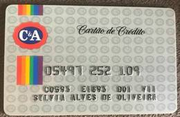 BRAZIL C & A STORE CREDIT CARD - Credit Cards (Exp. Date Min. 10 Years)