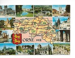61 ORNE GEOGRAPHIQUE / CPM VIERGE N° 23207 Artaud 12 Mini-vues / TBE Prix Raisonable +++++ - Carte Geografiche