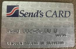 BRAZIL SENDAS SUPERMARKET CREDIT CARD - 07/1995 - THIS SUPERMARKET DOES NOT EXIST MORE - Credit Cards (Exp. Date Min. 10 Years)