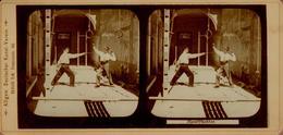 Jolie Reproduction De  Stéréotypes Classiques, Sportifs & Sport - L'Escrime Dans Le Berlin Des Années 1900/10 - Reproducciones