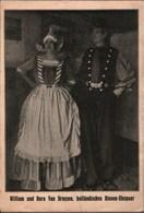 ! Alte Ansichtskarte Willian Und Dora Van Droysen, Riesen Ehepaar, Niederlande, Marcelli Schau - Zirkus