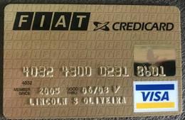 BRAZIL FIAT VISA CREDIT CARD - 06/2008 - Credit Cards (Exp. Date Min. 10 Years)