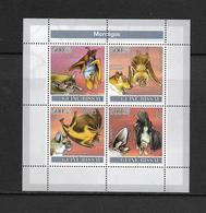 O) 2007 GUINEA BISSAU, BAT-CHIROPTERA-LAVIA FRONS-EPOMOPS-ROUSETTUS-LEAPHOTIS-SHEET MNH - Guinea-Bissau