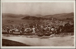 ! Alte Ansichtskarte 1929 Vigo, HDSG, Hamburg, Reederei - Pontevedra