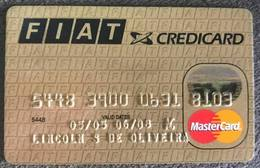 BRAZIL FIAT MASTERCARD CREDIT CARD - 06/2008 - Credit Cards (Exp. Date Min. 10 Years)