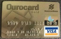 LSJP BRAZIL OUROCARD VISA BRAZIL BANK CARD - 05/2005 - Cartes De Crédit (expiration Min. 10 Ans)