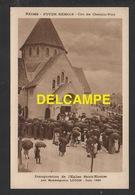 DD / 51 MARNE / REIMS / INAUGURATION DE L' EGLISE SAINT-NICAISE PAR MONSEIGNEUR LUÇON - JUIN 1924 / ANIMÉE - Reims