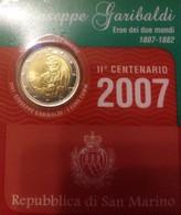 2 EURO SAN MARINO COMMEMORATIVE 2007 GIUSEPPE GARIBALDI EN COFFRET BU - San Marino