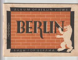 ALBUM DE 20 PHOTOS DE BERLIN EN ANGLAIS , FRANCAIS, RUSSE - Lieux