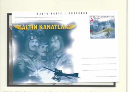 O) 2001 TURKEY, AVIATORS, MAXIMUM CARD XF - Turkey