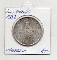 Ungheria - 1993 - 200 Forint - (FDC9737) - Ungheria