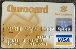 BRAZIL OUROCARD BANK OF BRAZIL VISA CREDIT CARD - 03/2006 - Credit Cards (Exp. Date Min. 10 Years)