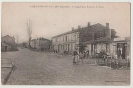 CPA 33 ST MARIENS ST YZAN La Grand' Rue , Route De St Savin - Otros Municipios