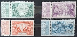 TIM 26 SOUDAN Exposition Coloniale De PARIS 1931 Série De 4 Timbres NEUFS ** ++  Avec Bord De Feuille Parfait état - 1931 Exposition Coloniale De Paris