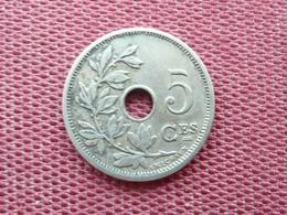 BELGIQUE Monnaie De 5 Cts 1904 - 1865-1909: Leopold II