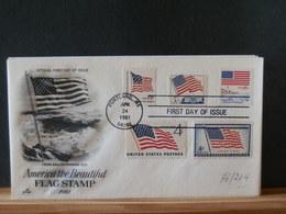 76/204   FDC   USA - Briefe